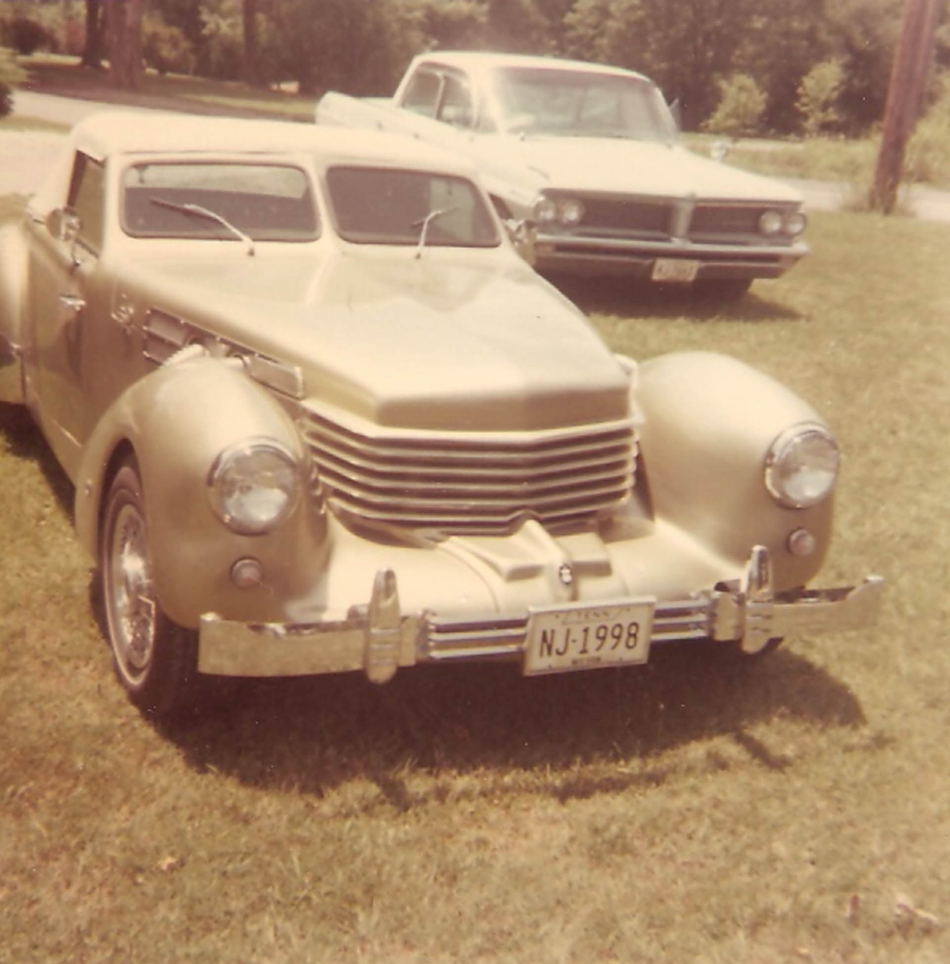1970 Cord originally owned by Felton Jarvis. Photo courtesy of Sonny Gaddis - Winchester, Tennessee. c.1972